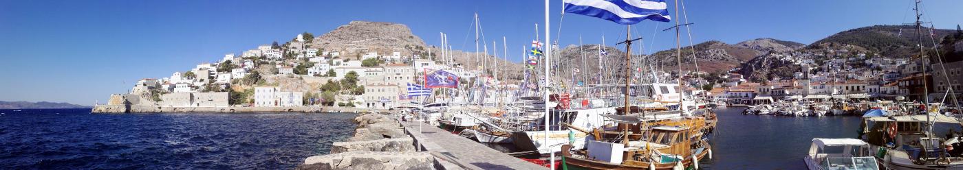 Hydra - purjehdi Kreikassa