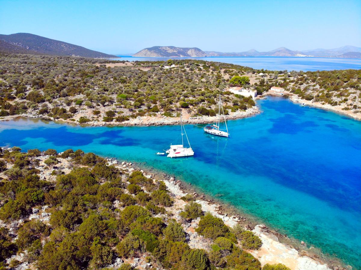 Purjehduskurssi Kreikassa